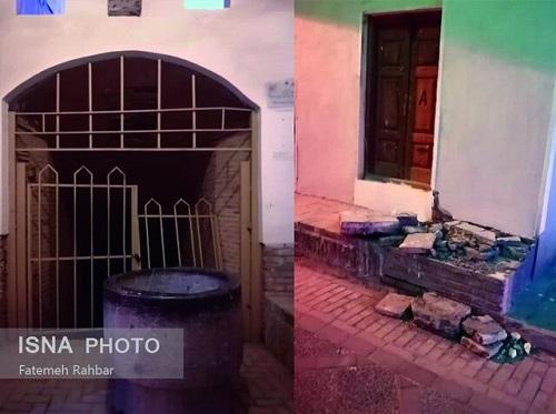 حمله اراذل و اوباش به بافت تاریخی یزد