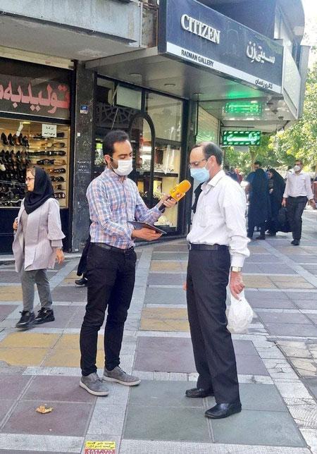مصاحبه شبکه خبر با شهروند تهرانی سوژه شد
