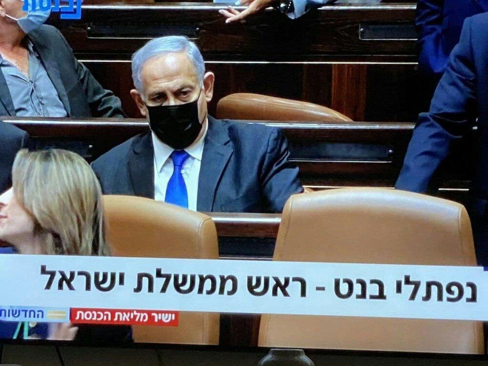 عکس ویژه   لحظه پایان نتانیاهو را ببینید
