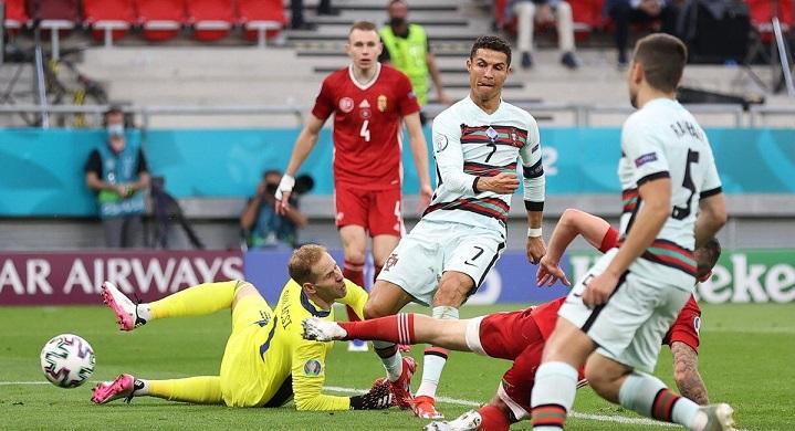 پرتغال ۳-۰ مجارستان؛ نفسهای کریس پشت سر دایی