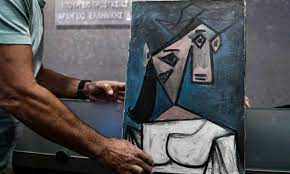 نجات تابلوی پیکاسو از دست سارقان