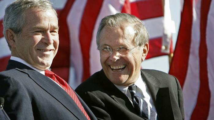دونالد رامسفلد وزیر دفاع سابق آمریکا درگذشت