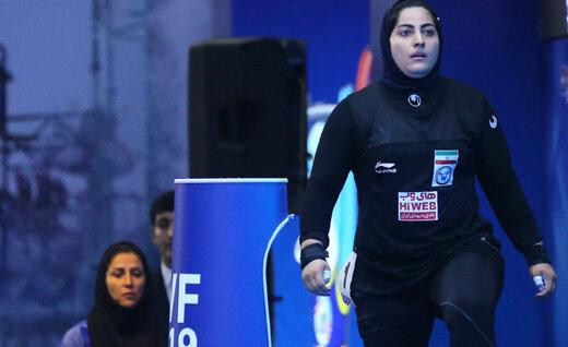 فرصت تاریخی وزنهبردار زن ایرانی در المپیک از دست رفت!