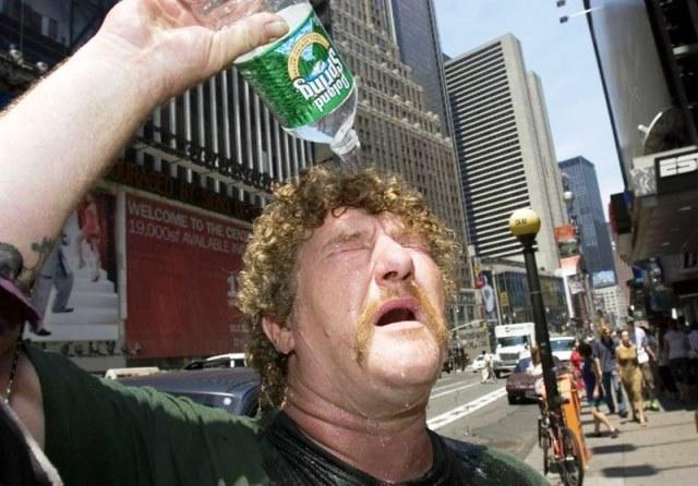مهلکه گرما در یکی از سردترین کشورهای جهان