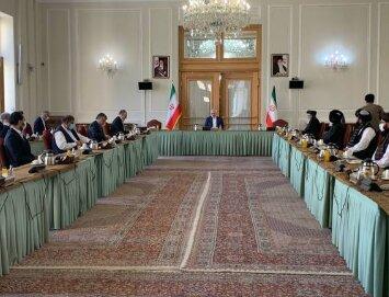 حضور نمایندگان دولت افغانستان و گروه طالبان در تهران