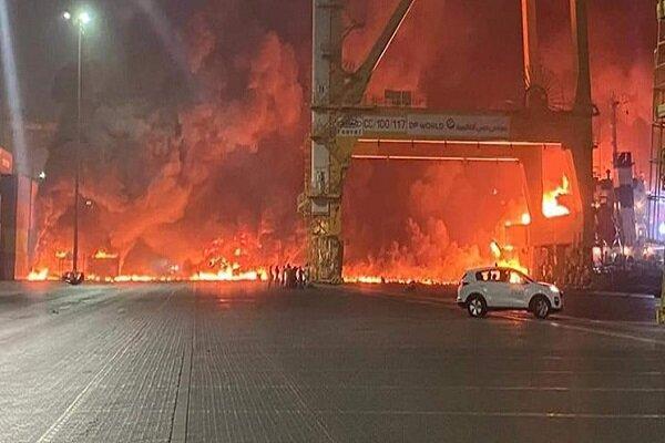 جزئیات انفجار شبانه در بندر دوبی