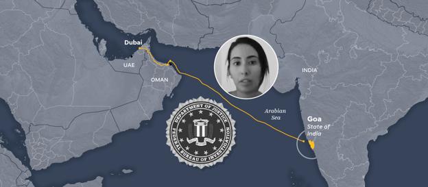 افشاگری درباره عملیات دستگیری دختر حاکم دوبی