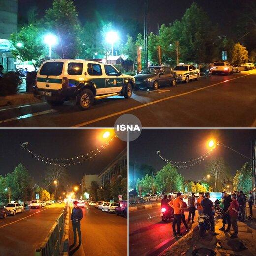 تازهترین توضیحات پلیس درباره انفجار شب گذشته تهران