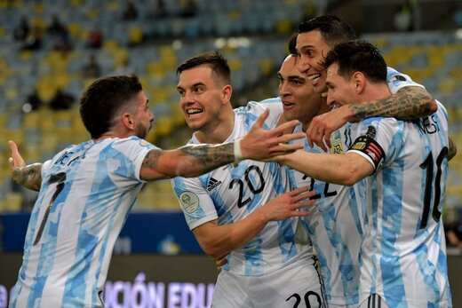 مسی طلسم آرژانتین را شکست