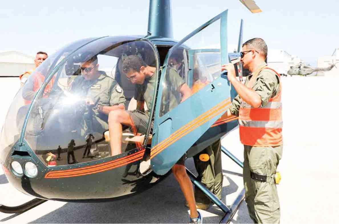 ارتش لبنان  با بالگرد  پول در میآورد