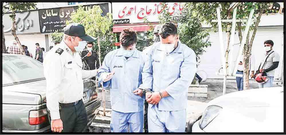 قطع انگشت مرد کلهپز در شرق تهران توسط اوباش
