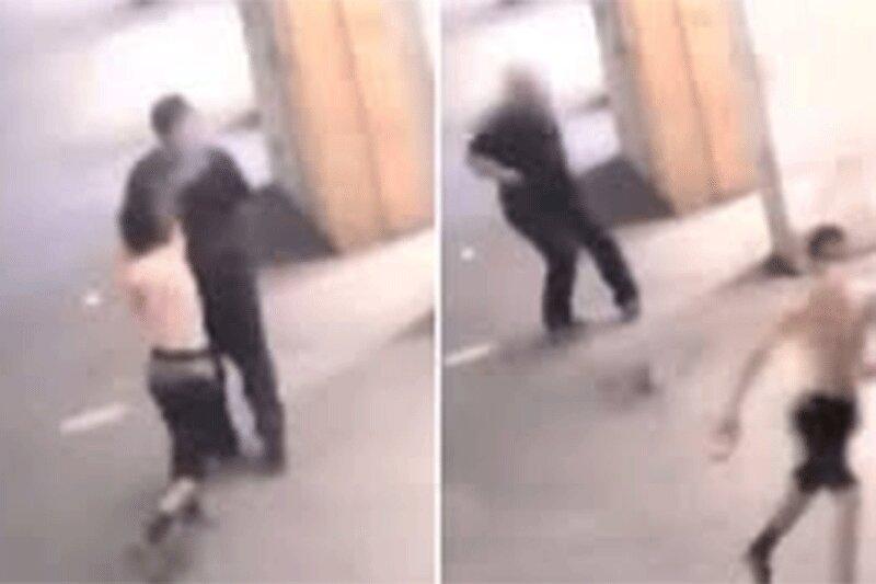 تماشا کنید   پلیس به دنبال متهم اسیدپاشی