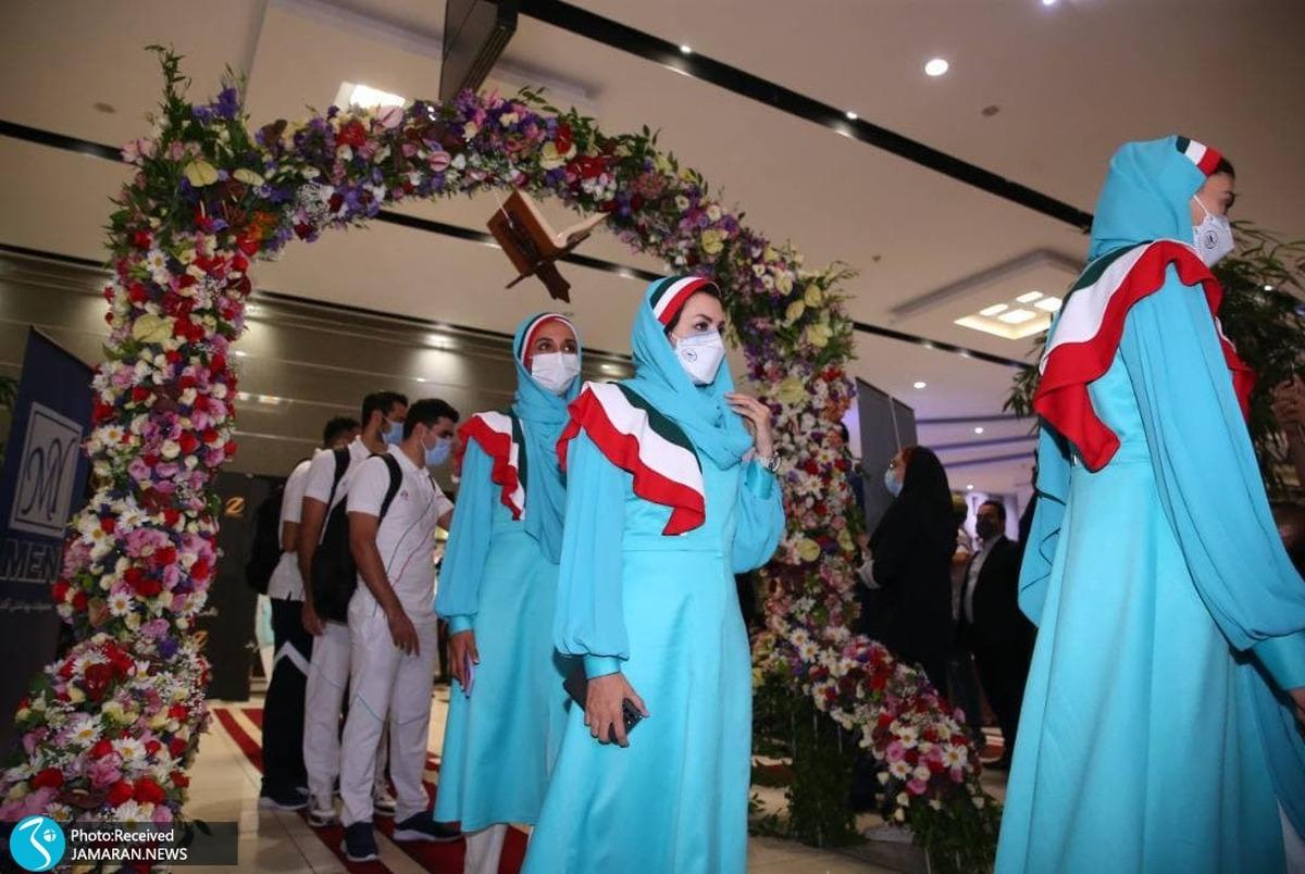 تکلیف لباس جنجالی کاروان ایران در افتتاحیه المپیک روشن شد