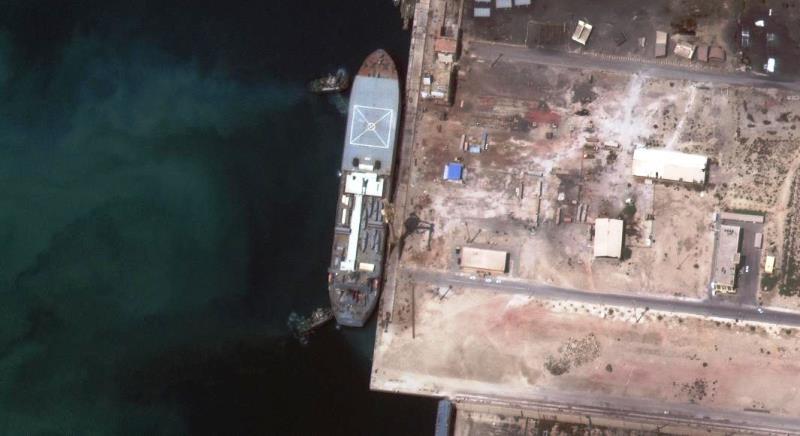 گزارش نیروی دریایی آمریکا از مسیر حرکت کشتیهای جنگی ایران