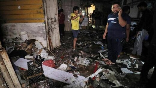 داعش مسئولیت انفجار علیه شیعیان در بغداد را برعهده گرفت