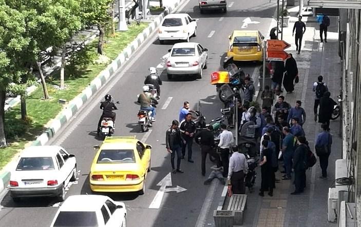 علت تیراندازی ماموران پلیس در حوالی میدان آزادی تهران