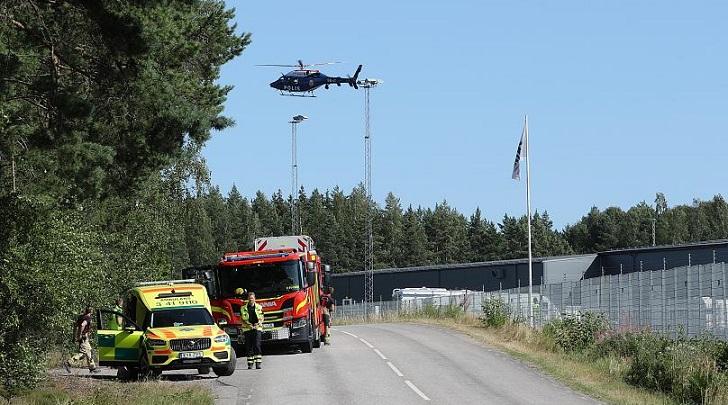 گروگانگیری زندانیان سوئد: پیتزا و هلیکوپتر میخواهیم!