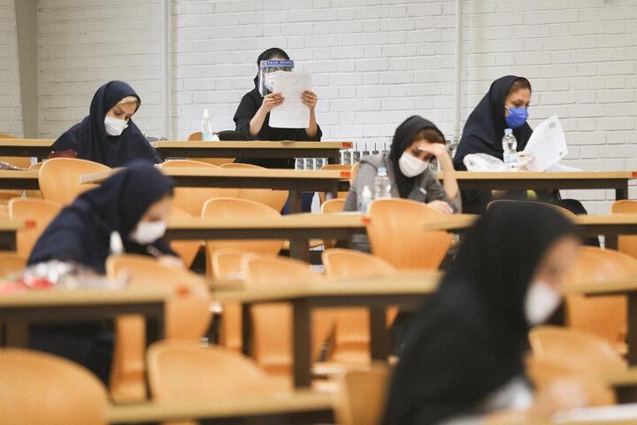 غیبت ۴۰درصد داوطلبان در اولین روز برگزاری آزمون ارشد علوم پزشکی