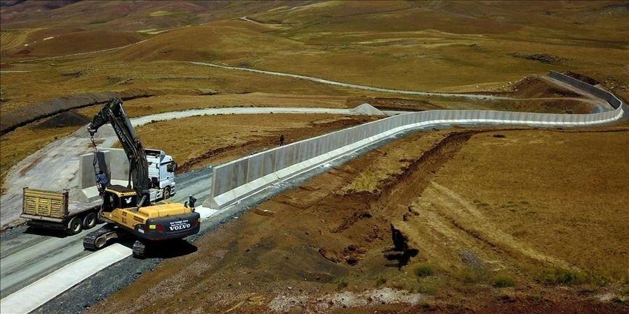 ادامه دیوارکشی ترکیه در مرزهایش؛ پاسخ ایران چیست؟