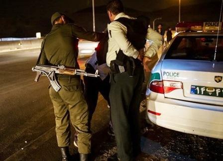 صاحب BMW خشمگین خیابان کریمخان دستگیر شد