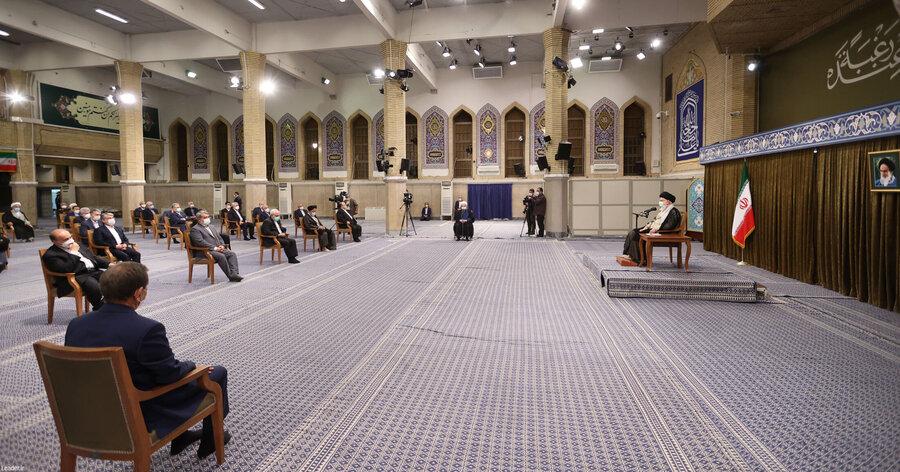 توضیح دفتر رئیسجمهور درباره حواشی جلسه ملاقات با رهبری