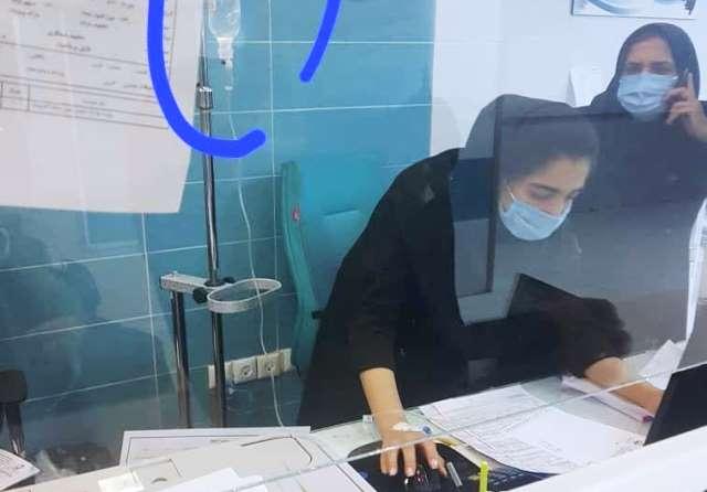 روایت یلدا پرستار وظیفهشناس بیمارستان لار