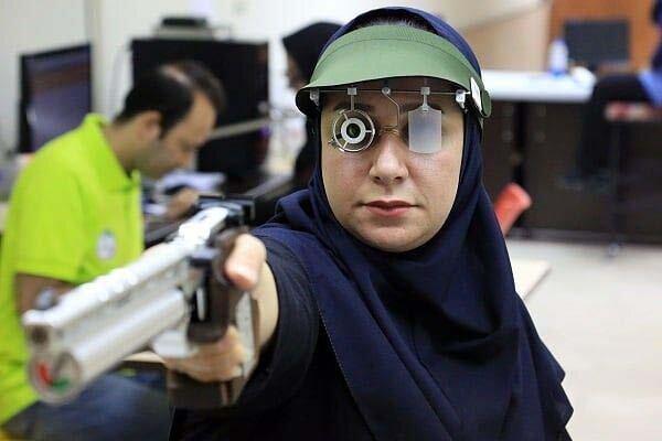 تیرانداز زن ایرانی در بازیهای پارالمپیک قهرمان شد