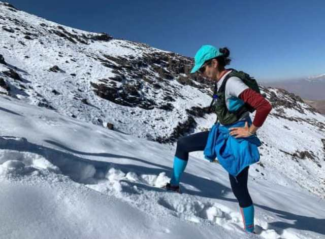نگار سماکنژاد از چهار جبهه قله دماوند را فتح کرد
