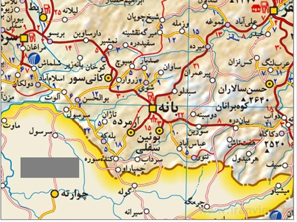 روز غمگین کردستان؛ ۱۴کشته در تصادف مینیبوس و یک شهید