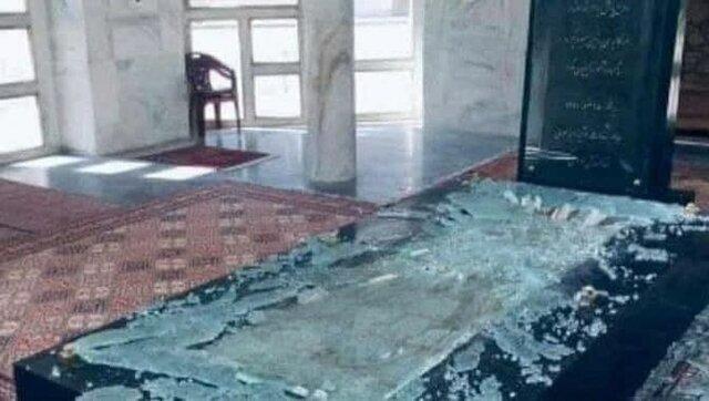 طالبان مقبره احمدشاه مسعود را تخریب کرد