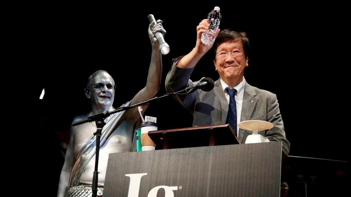 جایزه «اگ نوبل» به دانشمندان دیوانه رسید