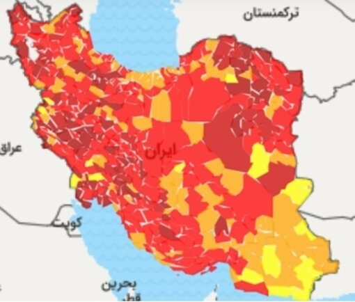 کدام شهرها هنوز در وضعیت قرمز کرونایی قرار دارند؟