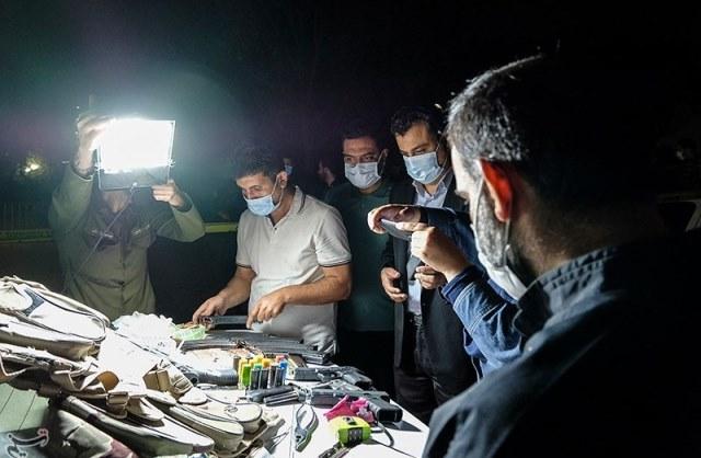 درگیری خونین پلیس با سارقان خشن مسلح در اتوبان همت