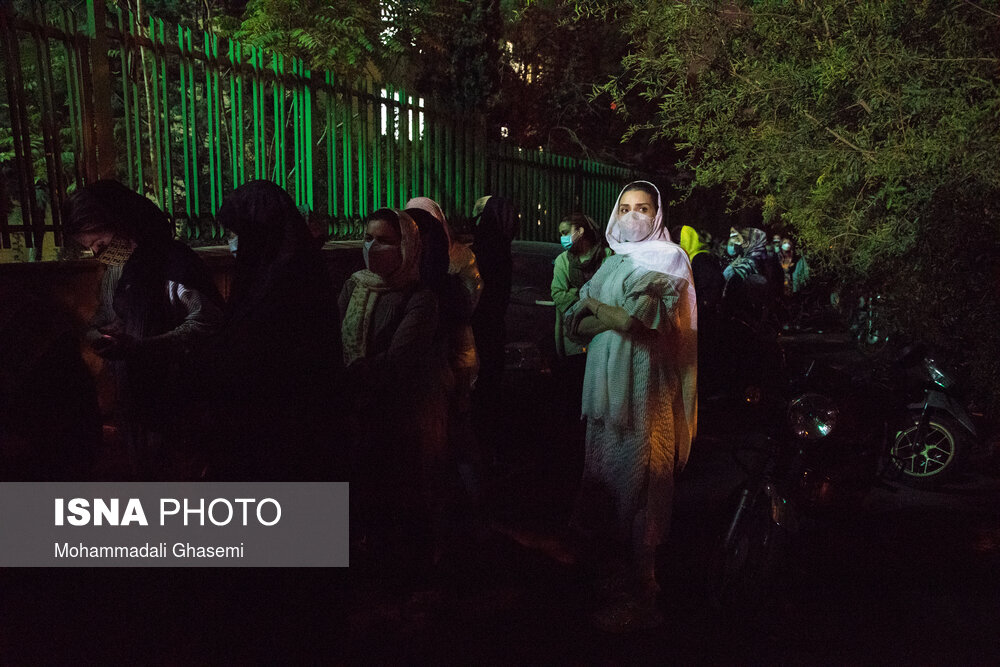 گزارش تصویری از اولین مرکز واکسیناسیون ۲۴ ساعته در تهران