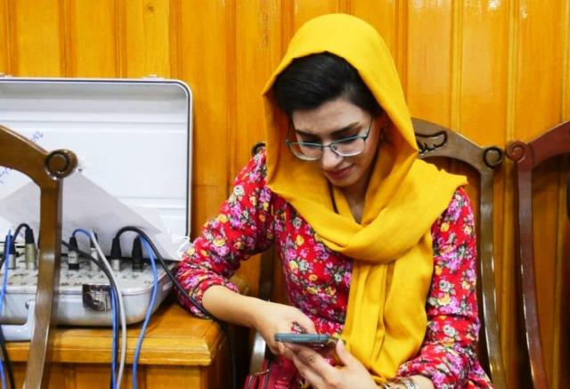 گفتگو با تنها خبرنگار مراسم زنان امارت اسلامی طالبان