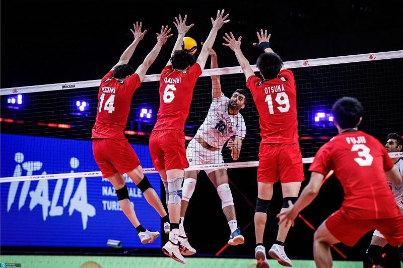 ایران با برتری مقابل ژاپن میزبان، قهرمان والیبال آسیا شد