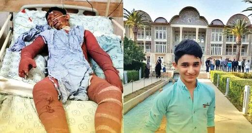 نوجوان فداکار ایذهای بر اثر سوختگی درگذشت