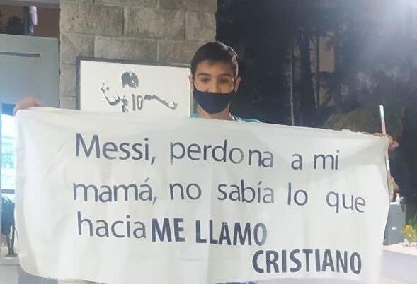 عذرخواهی نوجوان آرژانتینی از مسی؛ مادرم را ببخش!